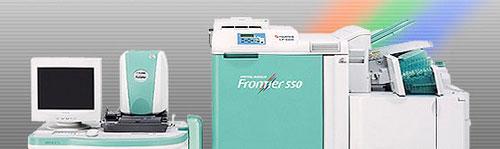 Digital Minilab Frontier 550 явилась продолжением популярной во всем мире серии цифровых фотолабораторий Frontier 330/340/350/355/570