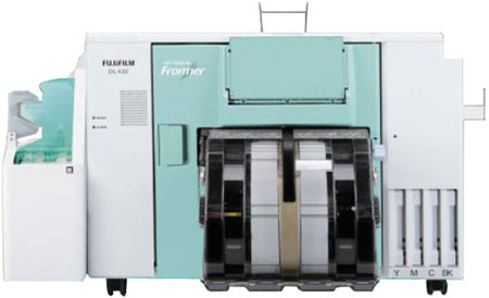 Fuji Frontier DL 430 сухой струйный минилаб