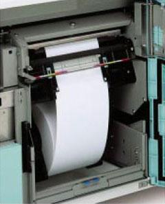 Широкий выбор размеров рулонной бумаги, которые легко заменить